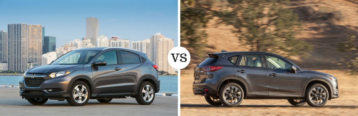 2017 Honda HR-V vs 2017 Mazda CX-5