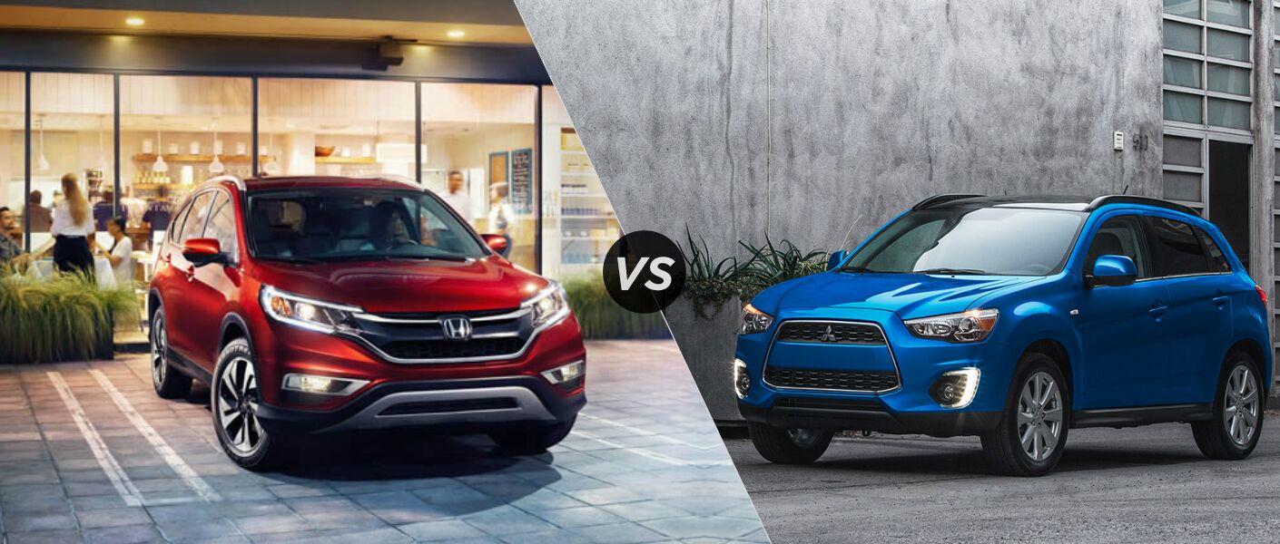2015 Honda CRV vs 2015 Mitsubishi Outlander Sport