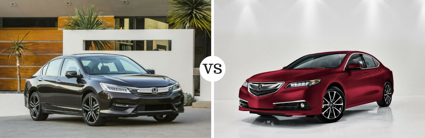 2017 Honda Accord vs 2017 Acura TLX