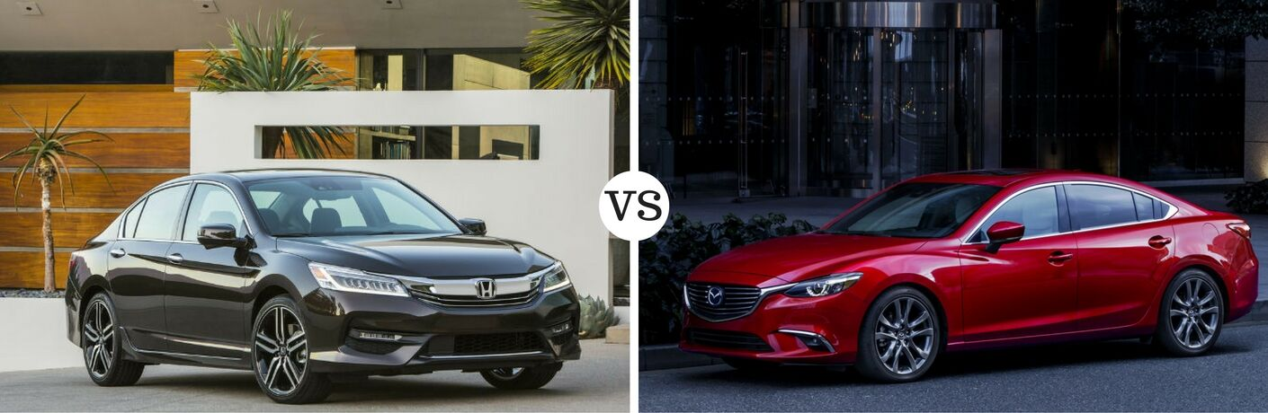 2017 Honda Accord Vs Mazda6