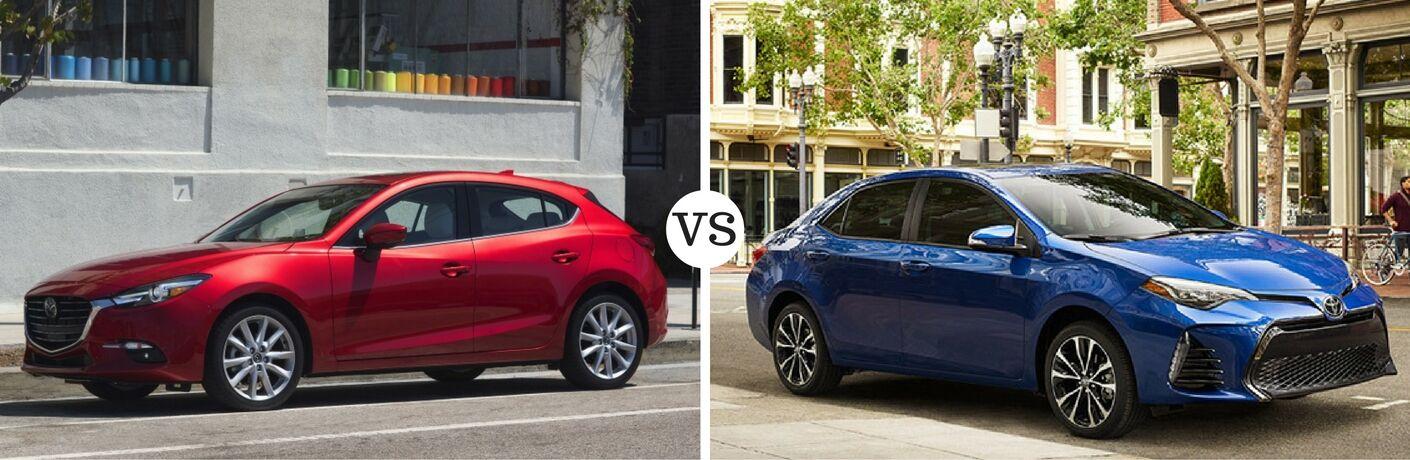 2017 Mazda3 vs 2017 Toyota Corolla