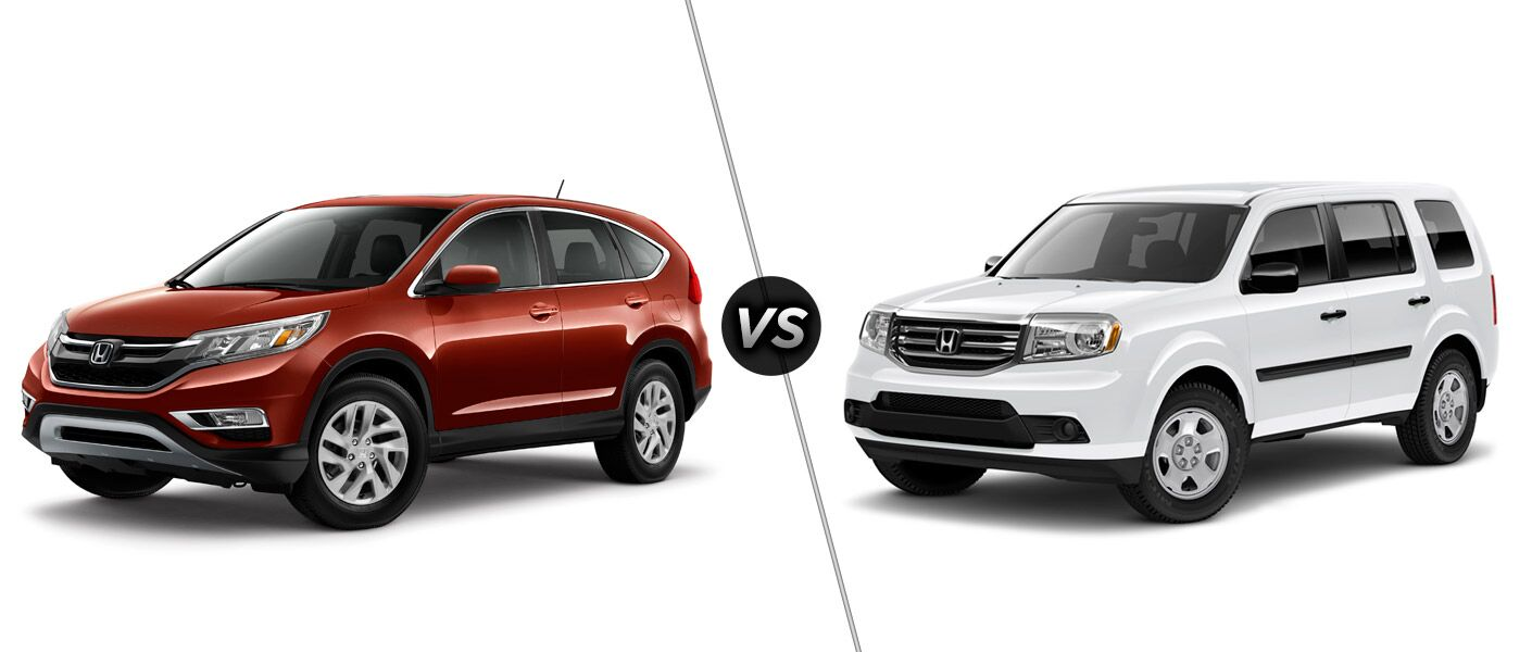 2015 honda cr v vs 2015 honda pilot