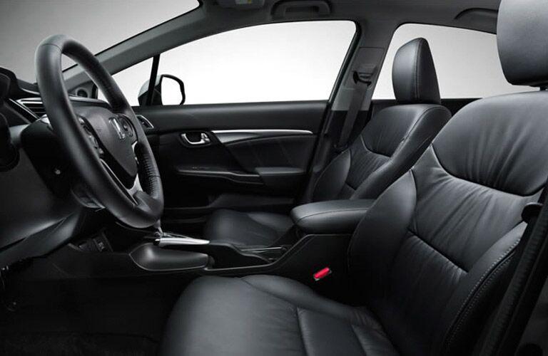 Honda Civic Interior Black Leather