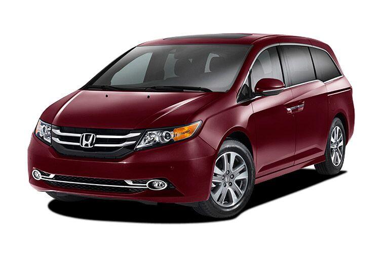 2015 Honda Odyssey Red