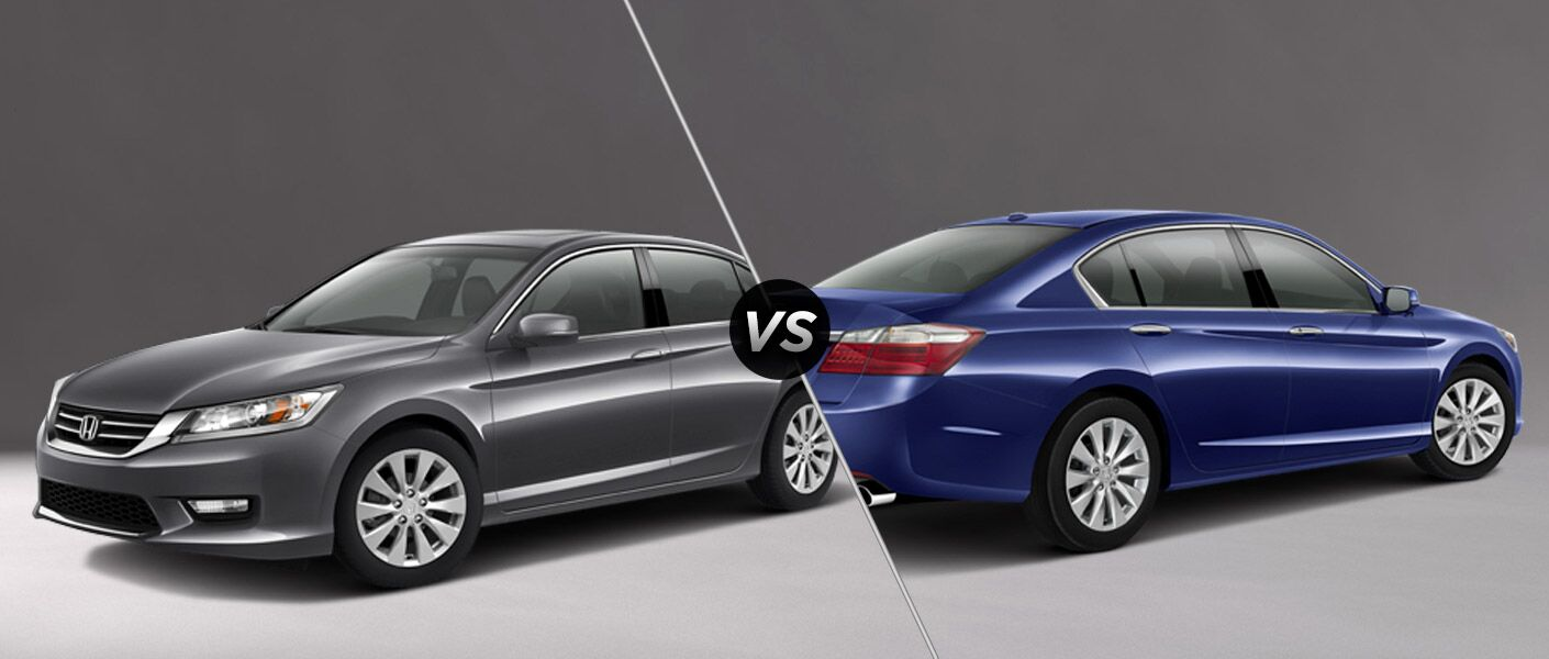 2015 Honda Accord EX vs 2015 Honda Accord EX-L