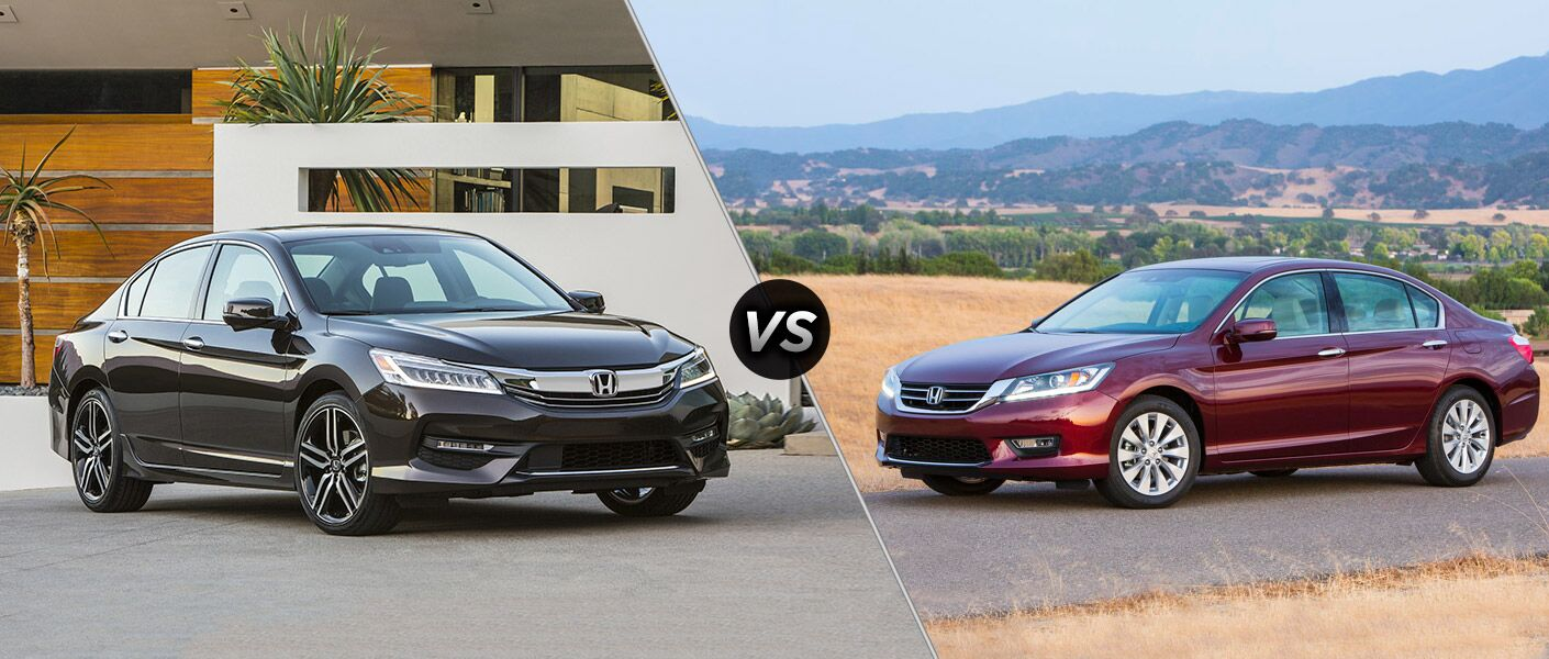 2016 Honda Accord vs 2015 Honda Accord