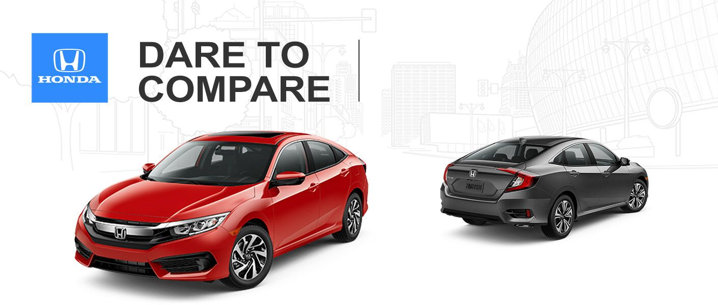2016 Honda Civic EX vs EX-T
