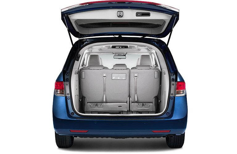 2016 Honda Odyssey Tailgate