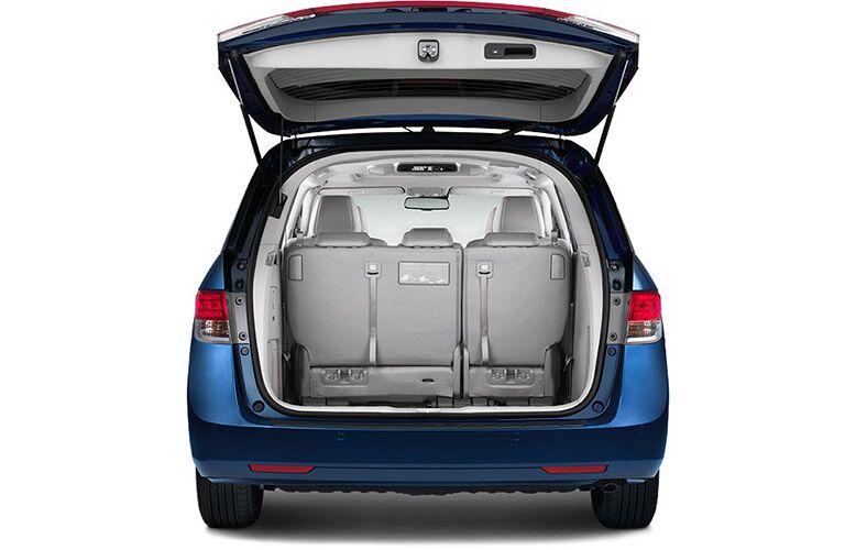 2016 Honda Odyssey Rear