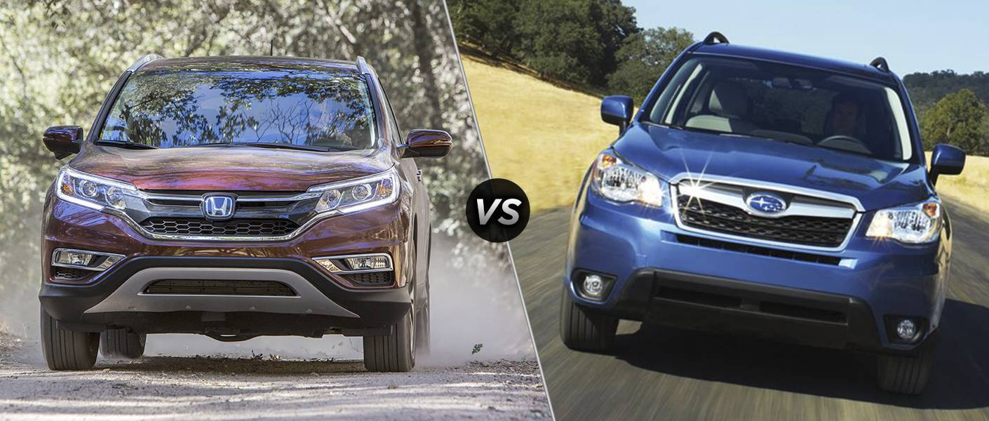 2016 Honda CR-V vs. 2016 Subaru Forester