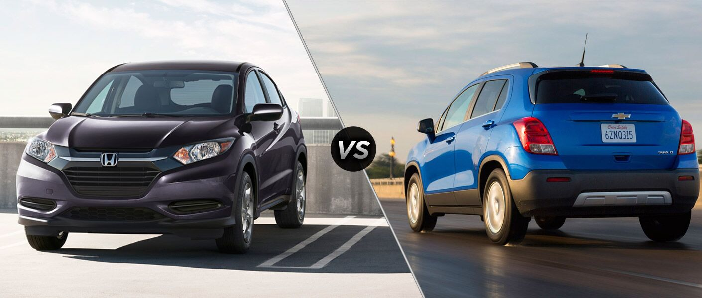2016 Honda HR-V vs. 2016 Chevy Trax
