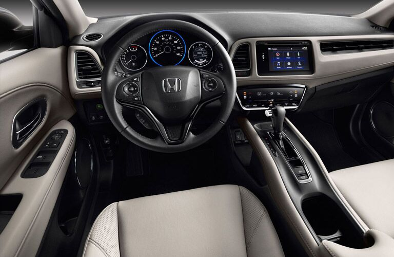 2016 Honda HR-V LX vs EX interior