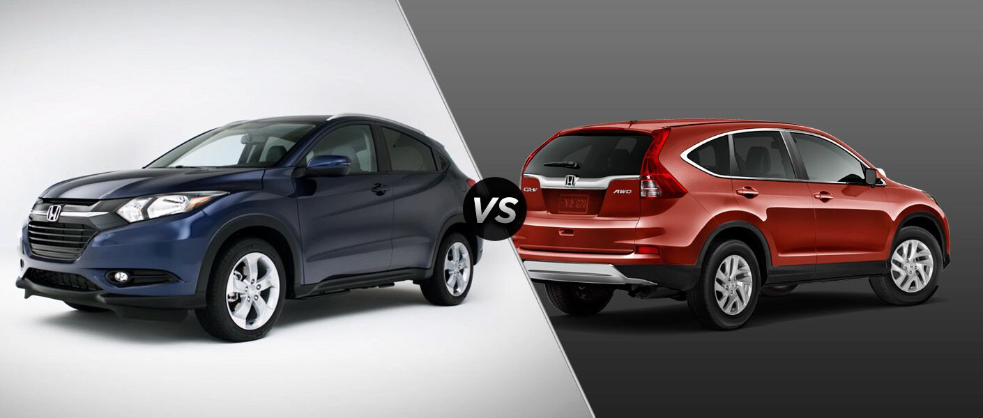 Honda hrv vs crv best cars modified dur a flex for Difference between honda cr v lx and ex