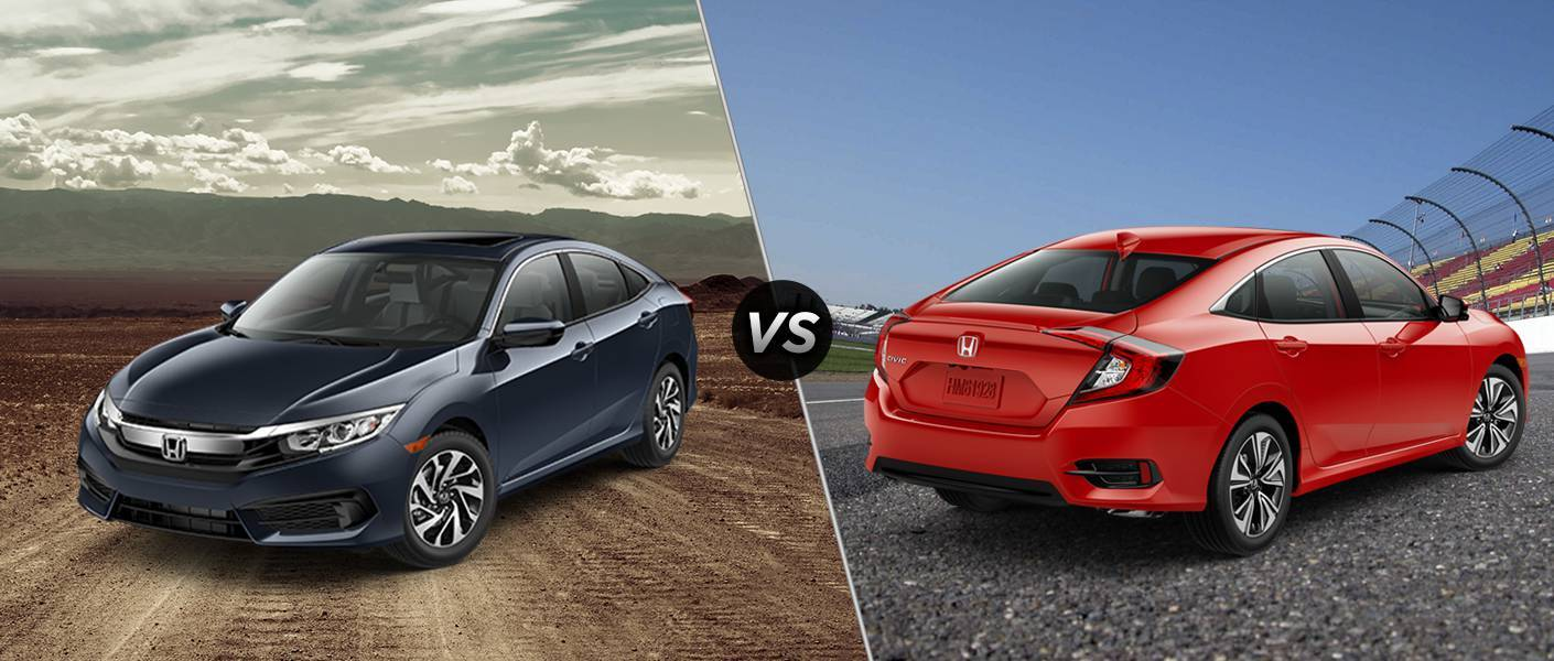 2016 Honda Civic EX vs EX-L