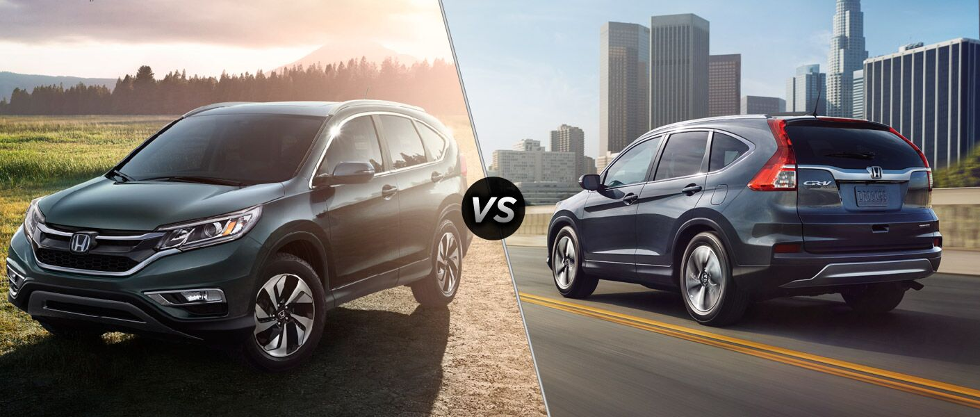 2016 Honda CR-V vs 2015 Honda CR-V
