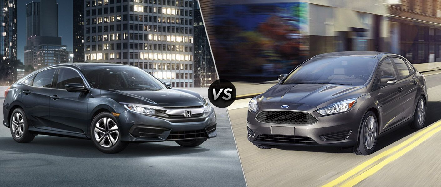 2016 Honda Civic vs 2016 Ford Focus