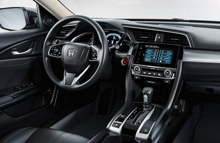 2016 Honda Civic EX vs EX-T engine options