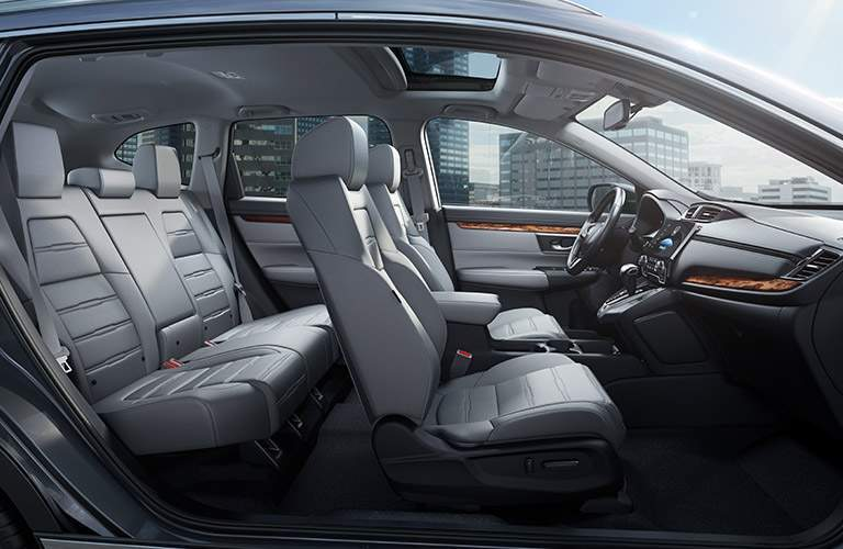 2017 Honda CR-V EX-L interior seating area