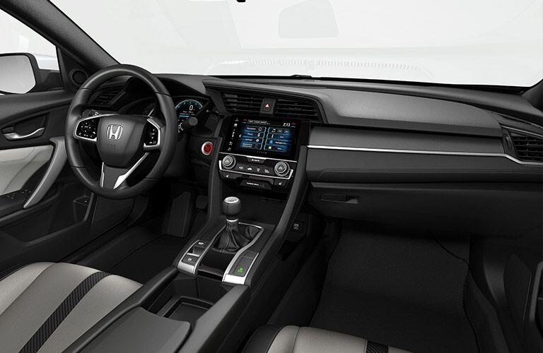2017 civic sedan interior accents