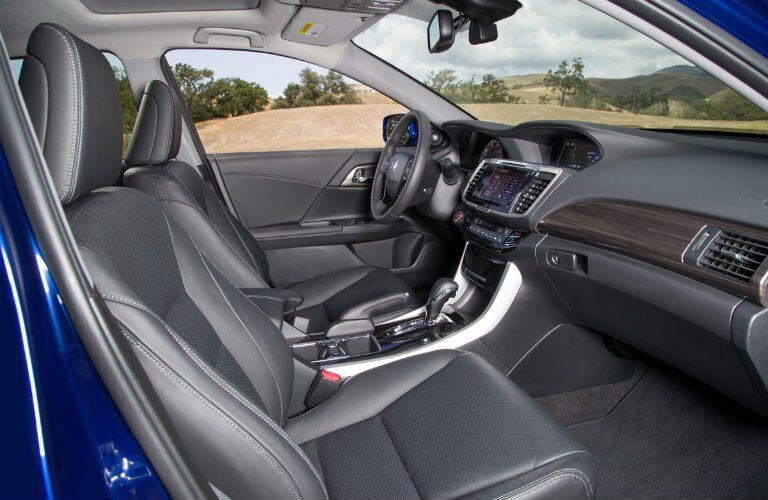 2017 Honda Accord Hybrid interior front seating area