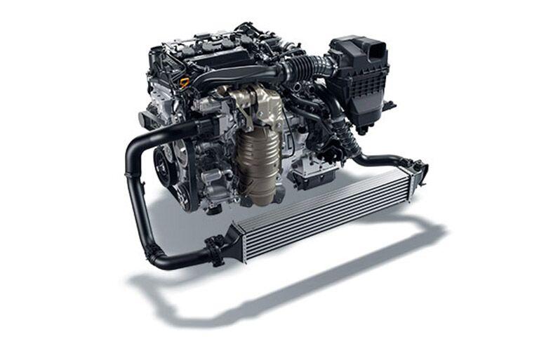 2017 Civic Hatchback 1.5-liter turbo engine