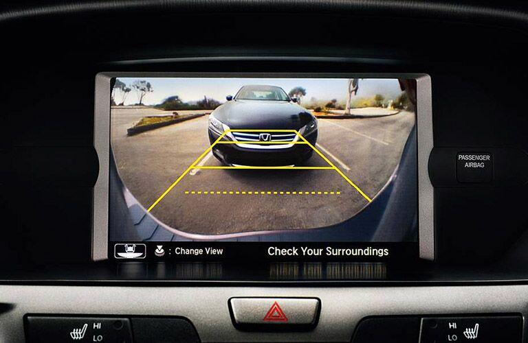 2017 Honda Odyssey backup camera display