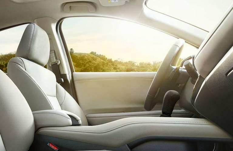 2018 Honda HR-V interior driver seat