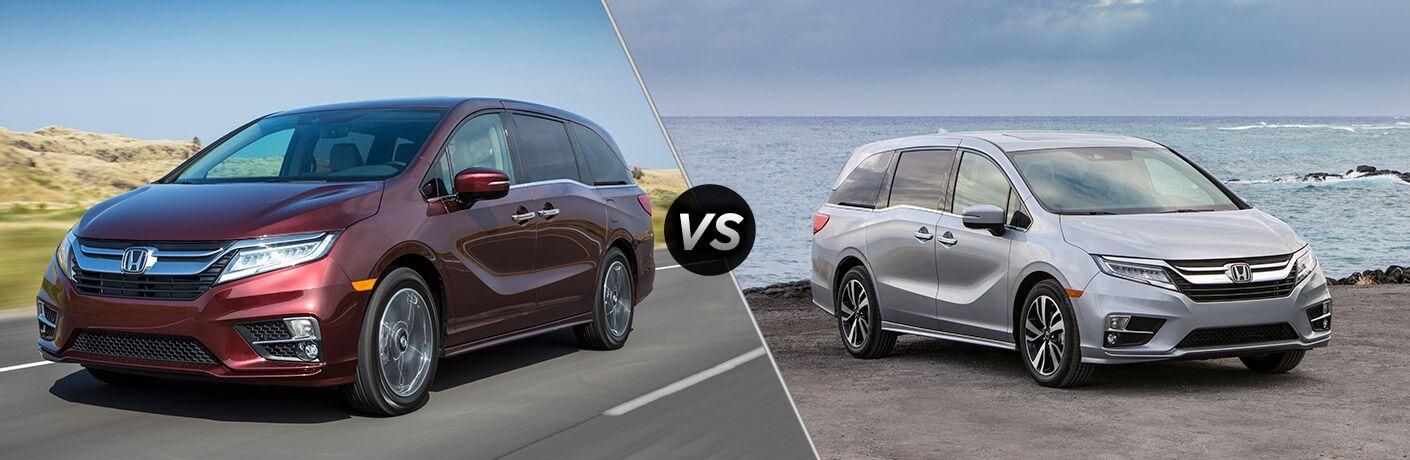 2019 Honda Odyssey Vs 2018 Honda Odyssey