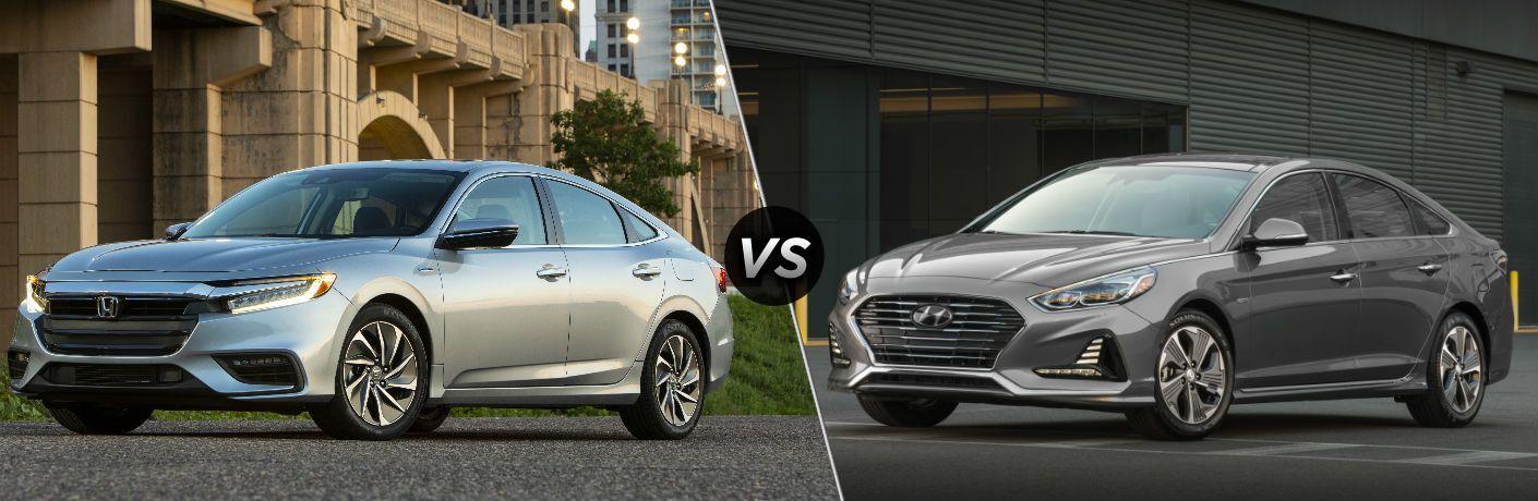 2019 Honda Insight vs 2018 Hyundai Sonata Hybrid