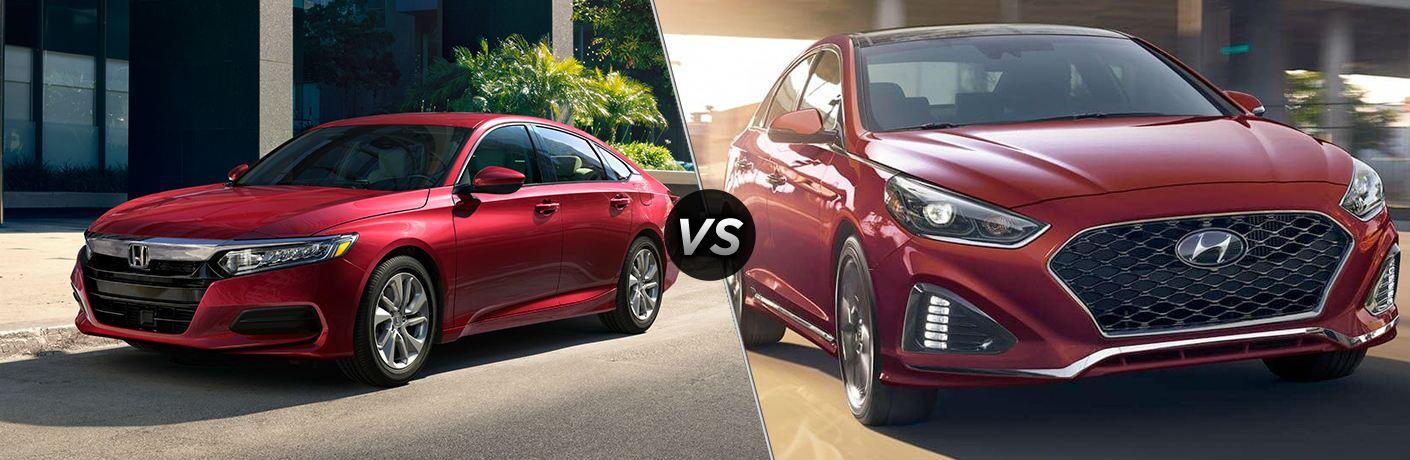 2019 Honda Accord vs 2019 Hyundai Sonata