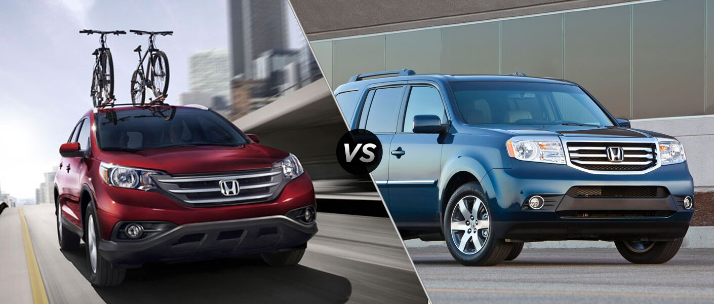 2014 Honda CR-V vs. 2014 Honda Pilot