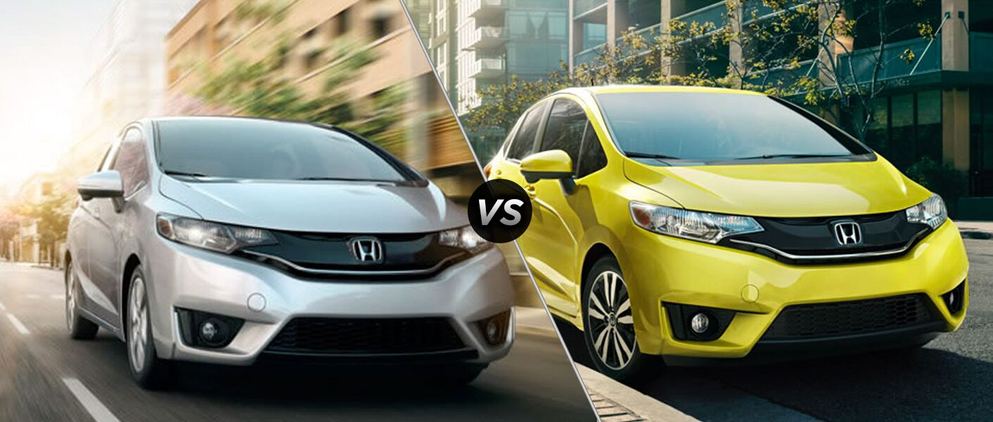 2015 Honda Fit EX vs. EX-L