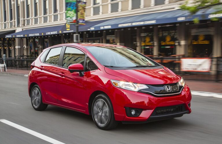 2015 honda fit ex vs ex l for Honda financial services mailing address