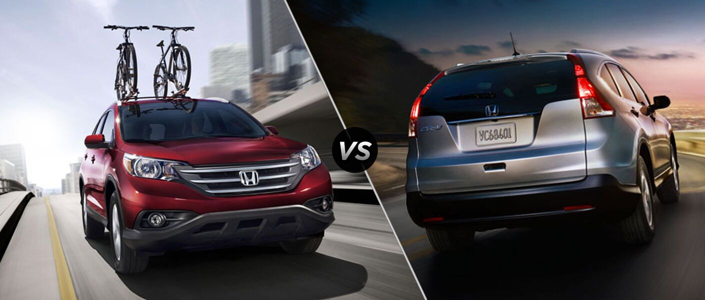 Honda CR V LX Vs Honda CR V EX