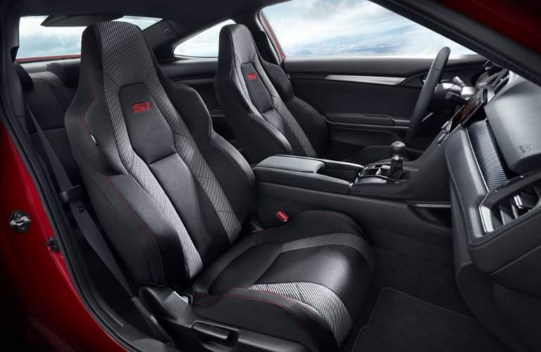 2017 Honda Civic Si interior front seating