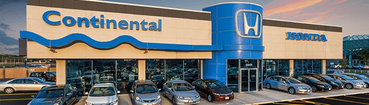 Honda history at Continental