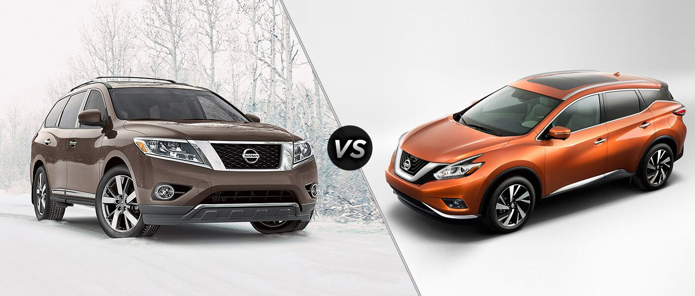 2015 nissan murano vs 2015 nissan pathfinder. Black Bedroom Furniture Sets. Home Design Ideas
