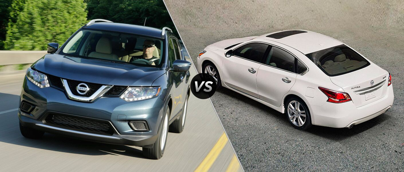 2015 nissan altima msrp - 2015 Nissan Rogue Vs 2015 Nissan Altima