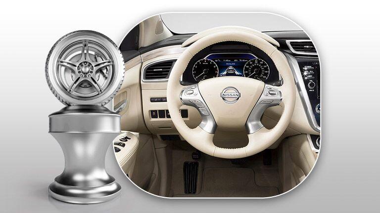 Nissan Murano SL leather seats