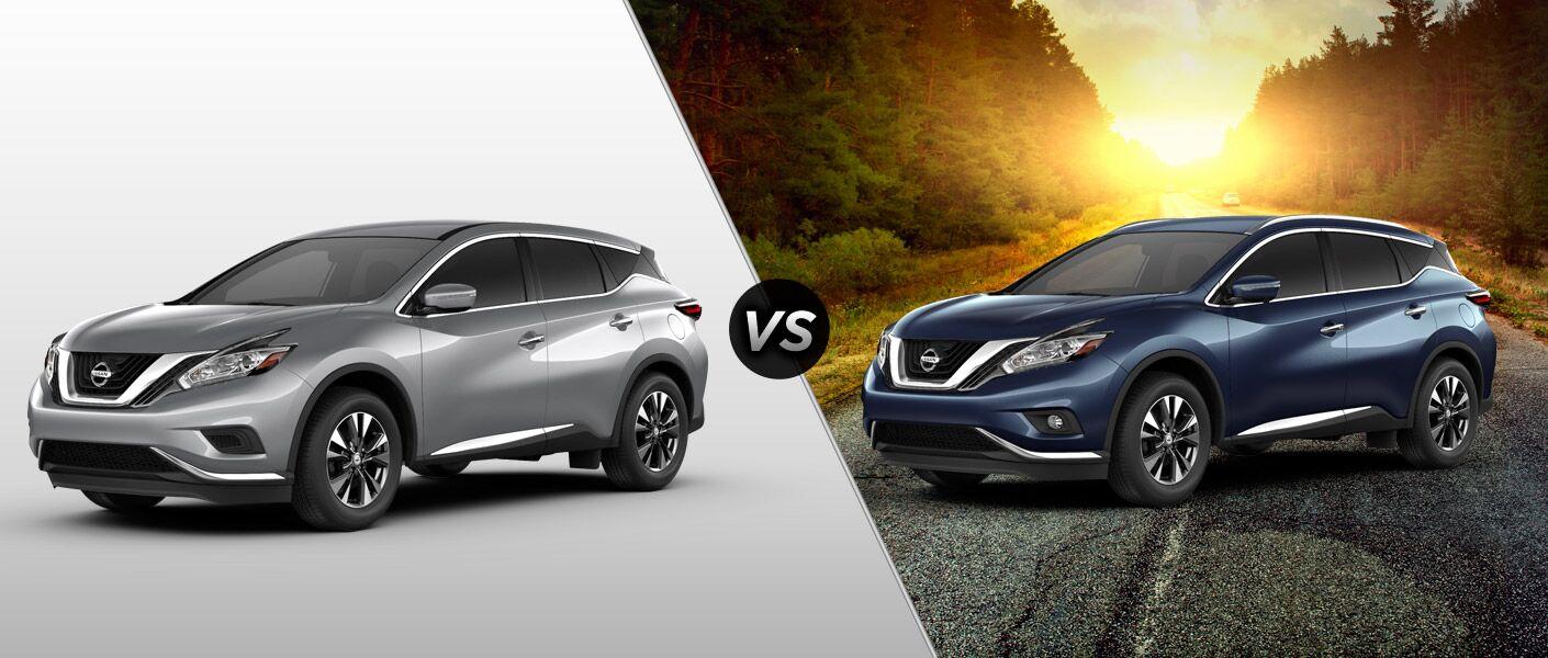 Nissan Murano S vs SL