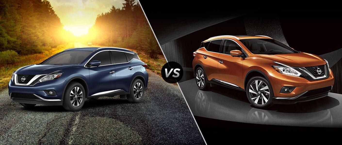2015 Nissan Murano SL vs 2015 Nissan Murano Platinum