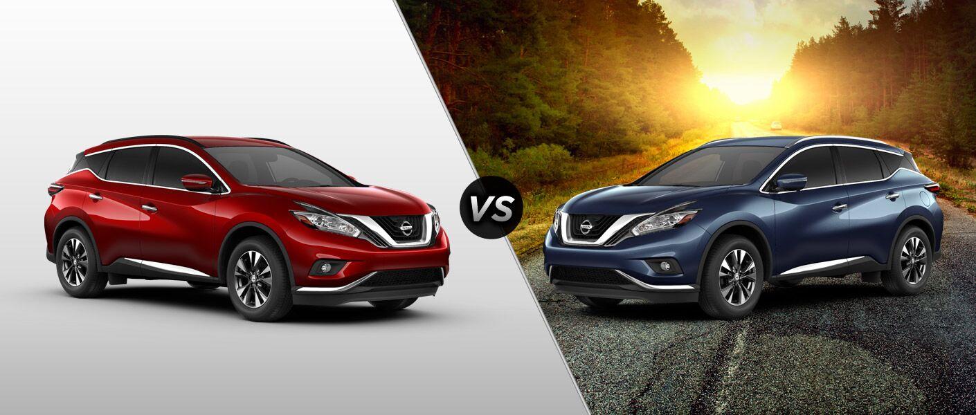 2015 Nissan Murano SV vs 2015 Nissan Murano SL