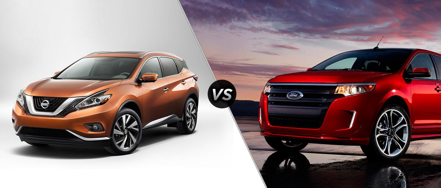 Compare the 2015 Nissan Murano vs 2015 Ford Edge with the experts at Continental Nissan.