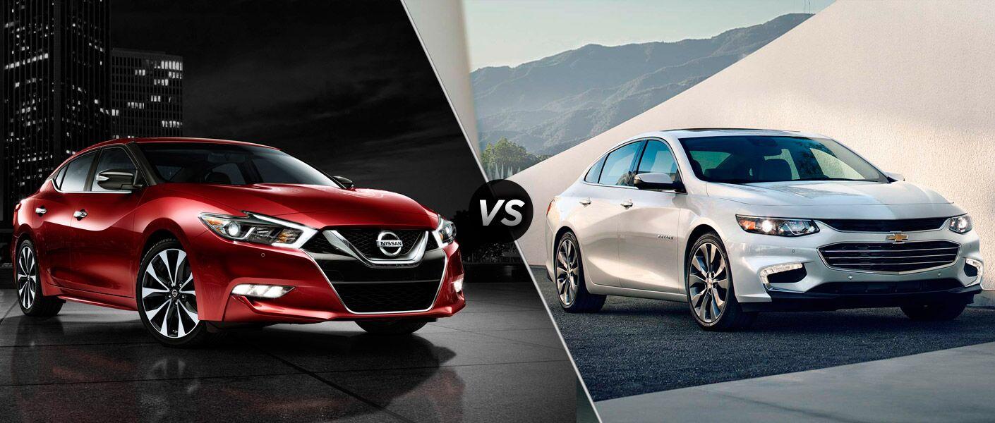 2016 Nissan Maxima vs. 2016 Chevy Malibu