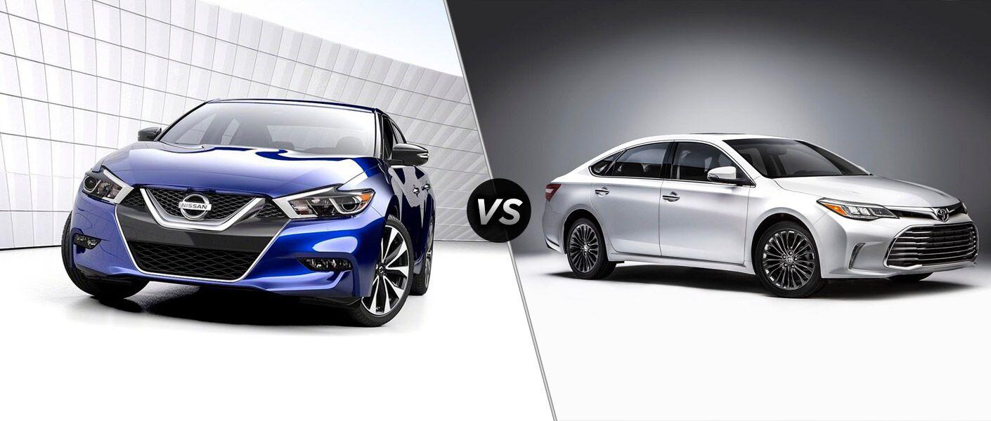 2016 Nissan Maxima vs. 2016 Toyota Avalon