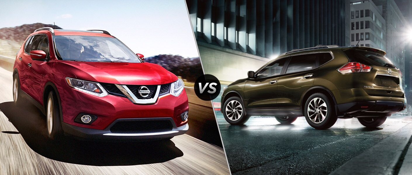 2016 nissan rogue vs 2015 nissan rogue. Black Bedroom Furniture Sets. Home Design Ideas