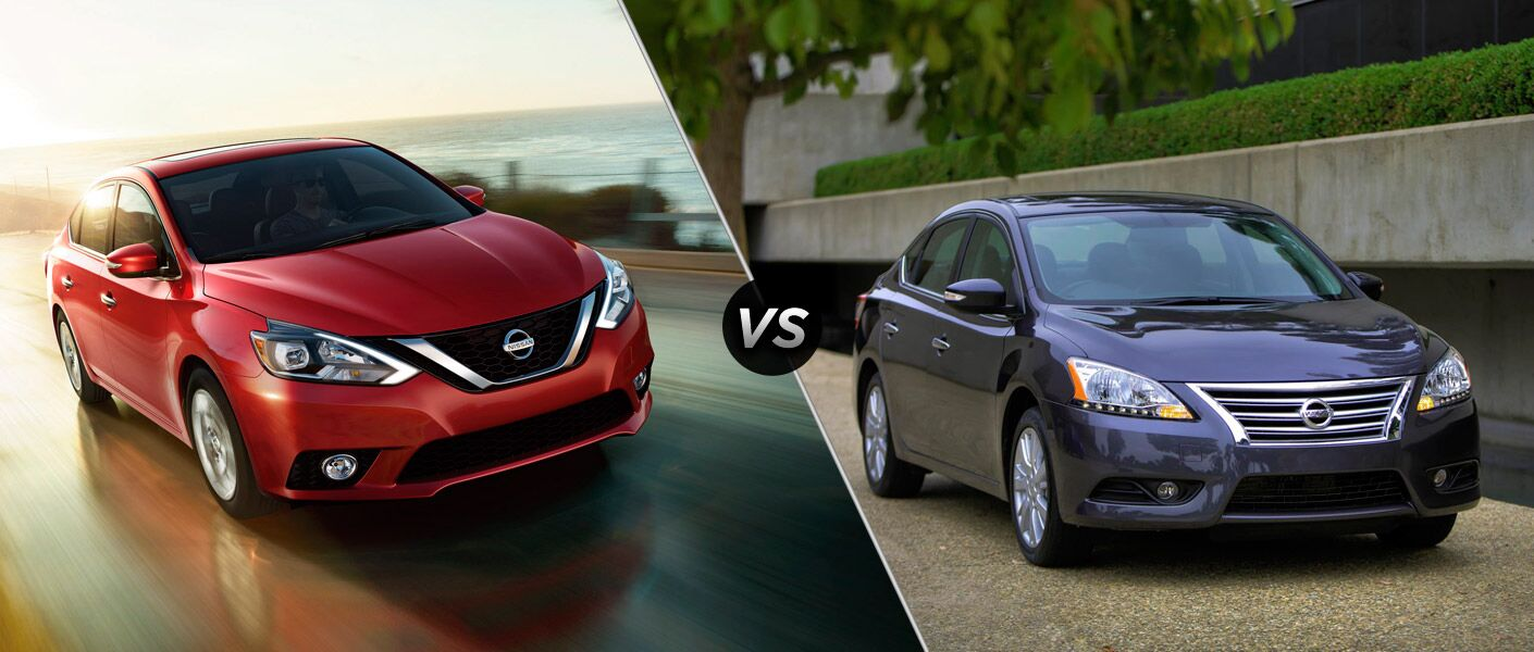 2016 Nissan Sentra vs 2015 Nissan Sentra in Chicago, Cicero, Berwyn, and LaGrange