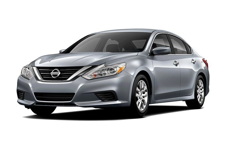 full view of the Nissan Altima