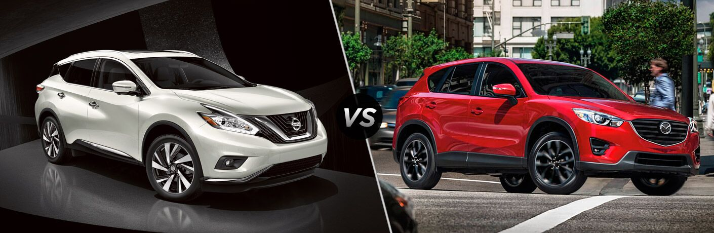 2017 nissan murano vs 2017 mazda cx 5. Black Bedroom Furniture Sets. Home Design Ideas
