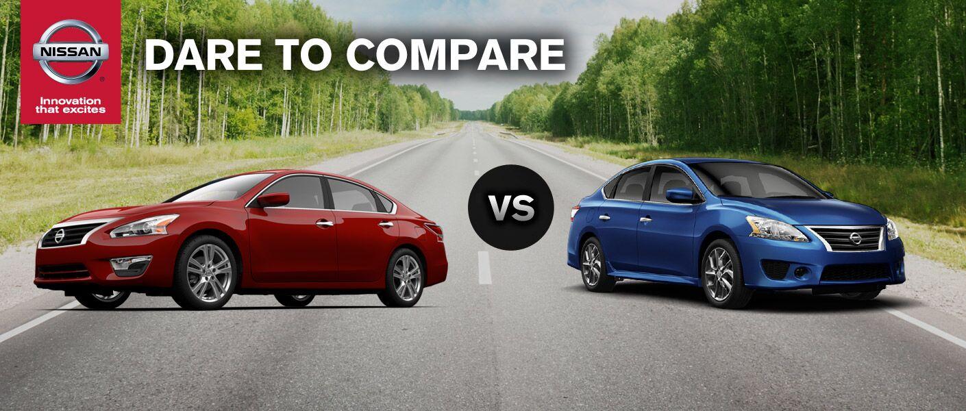 2014 Nissan Sentra vs. 2014 Nissan Altima